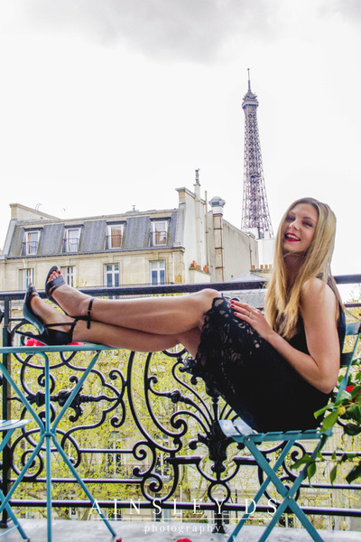 Fashion and solo portrait photoshoot in Paris with Ainsley Ds photography, Paris photographer.