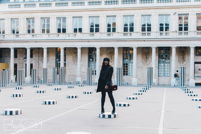 Fashion photography shoot in Paris with Ainsley DS Photography & Cranberry Tantrums